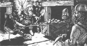 Dwarven Miners, from the AD&D 1e Players Handbookk