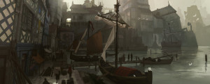 Medieval Port by Kurobo