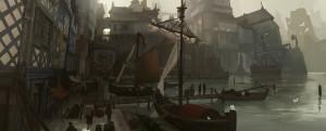 Medieval Port by Kurobo