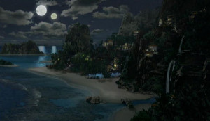 Suraya Bay at Night