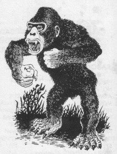 Carnivorous Ape (AD&D 1E Monster Manual)