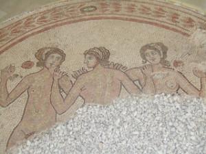 Roman Bathhouse Mosiac